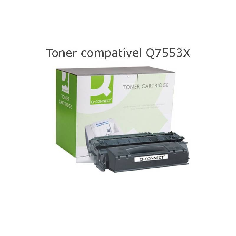 Toner compativel com HP Q7553X preto