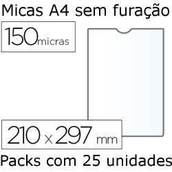 Micas A4 sem furação