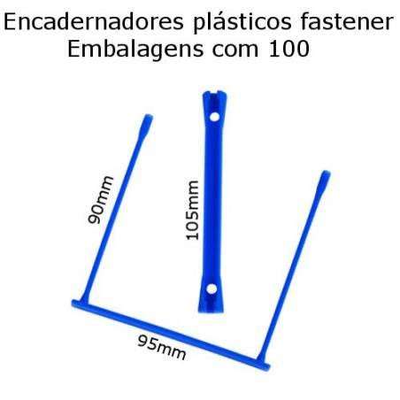 Encadernadores plásticos fastener e-clip