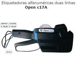 Etiquetadoras Open C17A de duas linhas