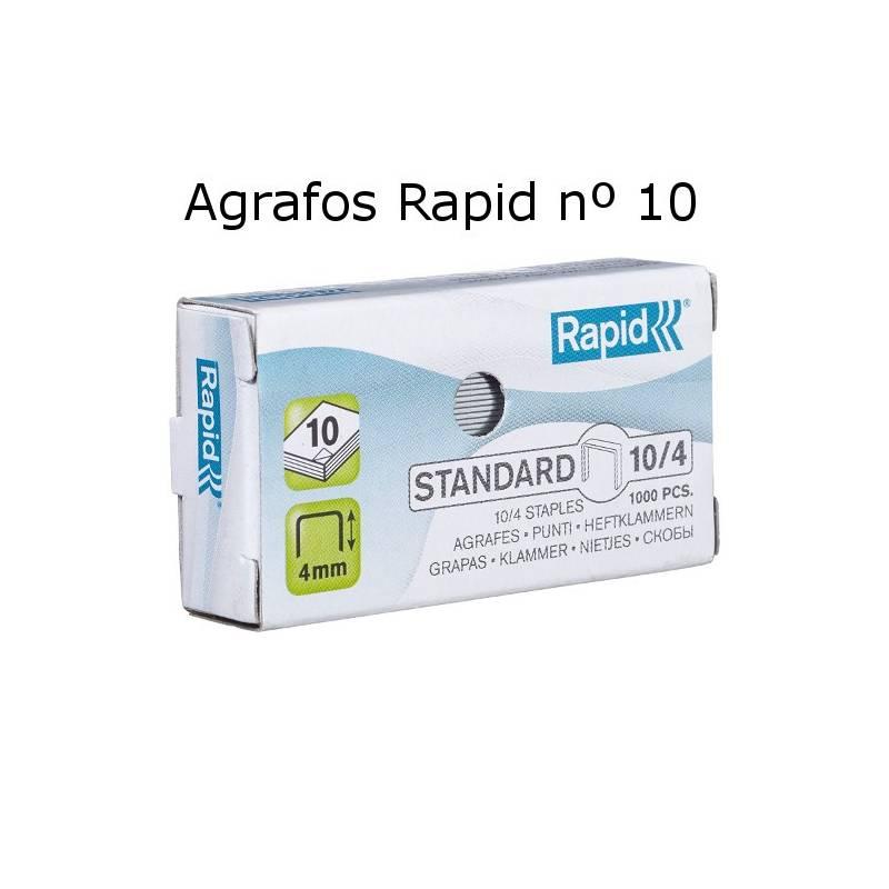Agrafos Rapid nº 10