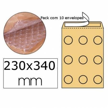 Envelopes almofadados 240x330mm nº 7