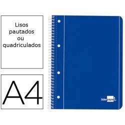 Cadernos A4 espiral de capa...