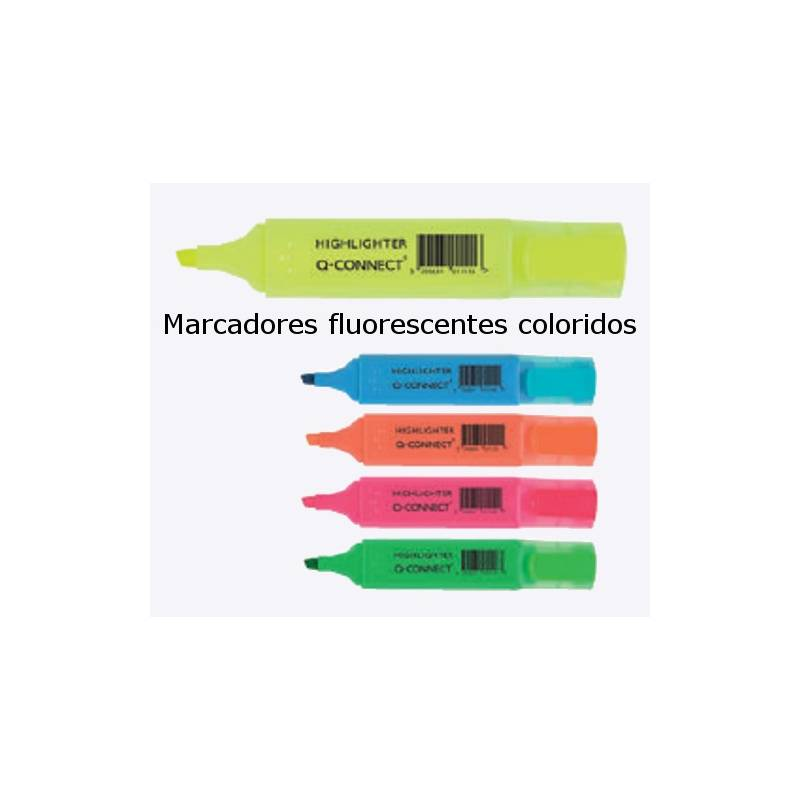 Marcadores fluorescentes (Highlithter) Q-Connect
