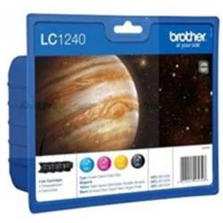 Tinteiro Brother LC1240VALBP (pack com 4 Cores)