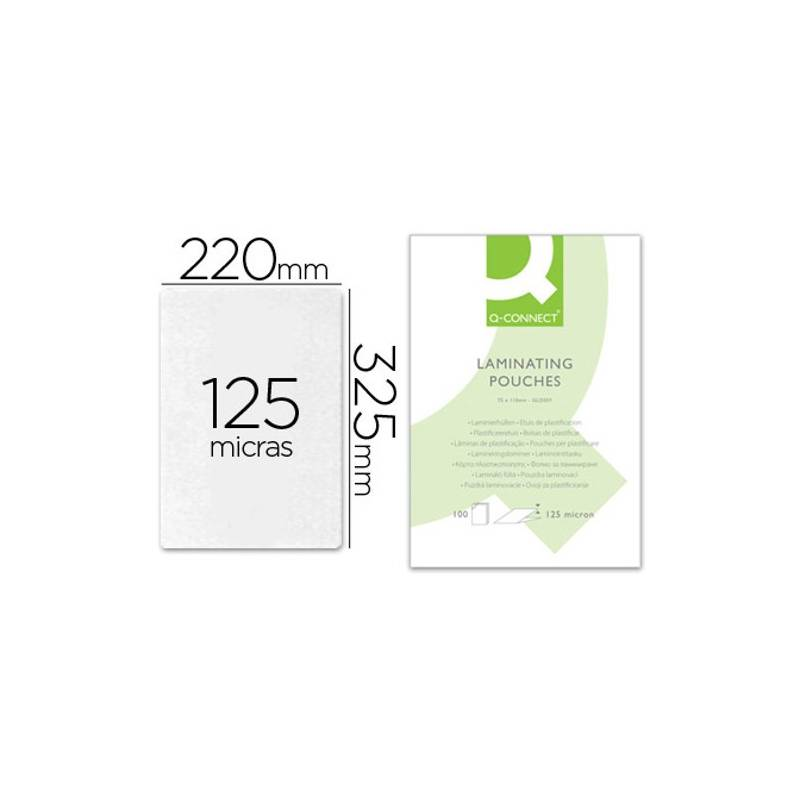 Bolsas de plastificar 325X220 mm (almaço) 125 microns