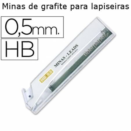 Minas de grafite para lapiseiras 0,5 mm
