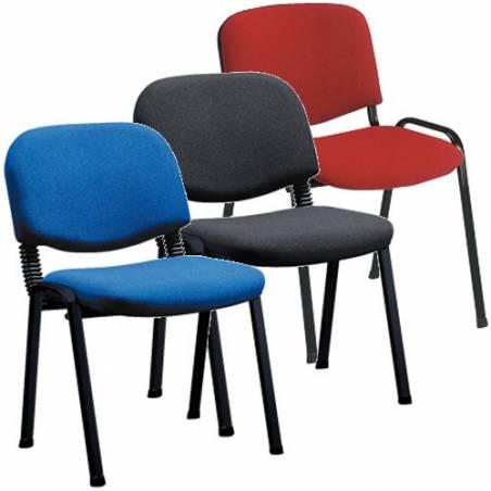 Cadeiras de escritório de quatro pés