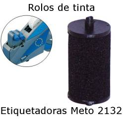 Rolos de tinta para etiquetadora Meto 2132
