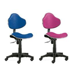 Cadeiras de escritório giratórias de linhas elegantes