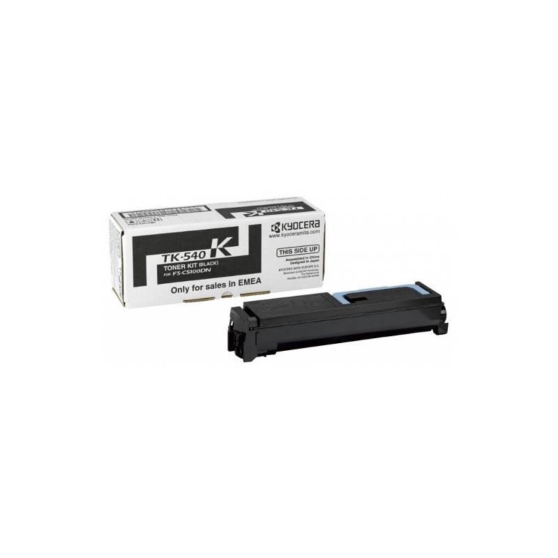Toner Kyocera TK540K preto para FS-C5100DN