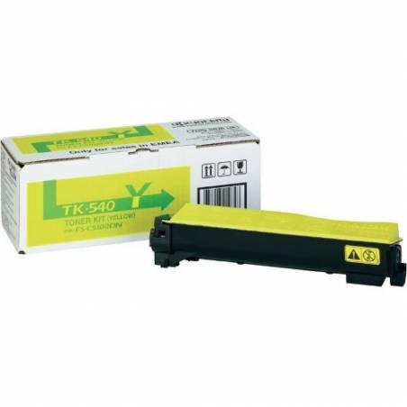 Toner Kyocera TK540Y amarelo para FS-C5100DN