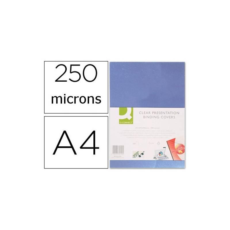 Acetatos de encadernação A4, 250 microns