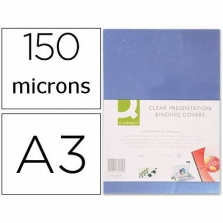 Acetatos de encadernação A3, 150 microns