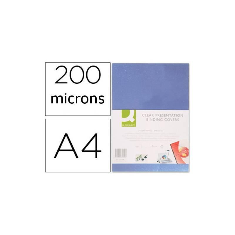Acetatos de encadernação A4, 200 microns