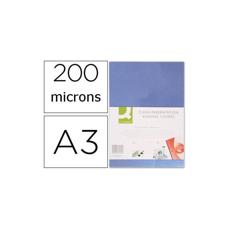 Acetatos de encadernação A3, 200 microns