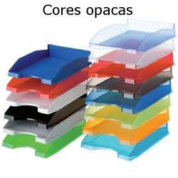 Tabuleiros  secretária plásticos opacos coloridos