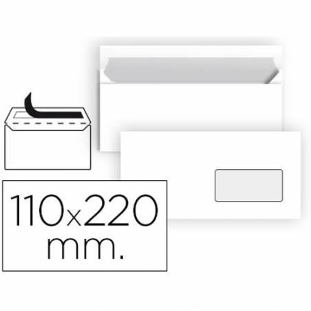 Envelopes comerciais 110X220mm com janela