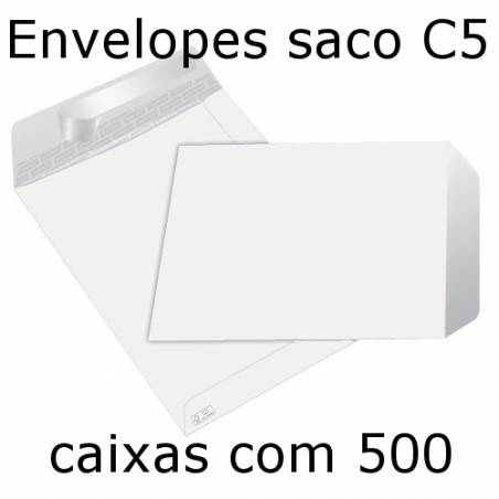 Envelopes C5 brancos