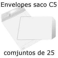 Envelopes C5 (162x229 mm) brancos