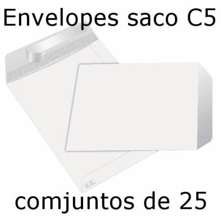 Envelopes C5 (162x229 mm) brancos