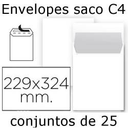 Envelopes brancos C4...