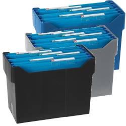 Suportes plásticos para arquivo suspenso
