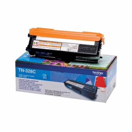 Toner Brother TN328C Azul