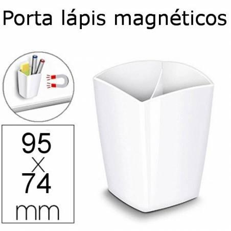 Porta Lápis magnéticos brancos