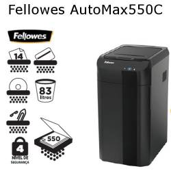 Destruidoras de papel Fellowes AutoMax 550C