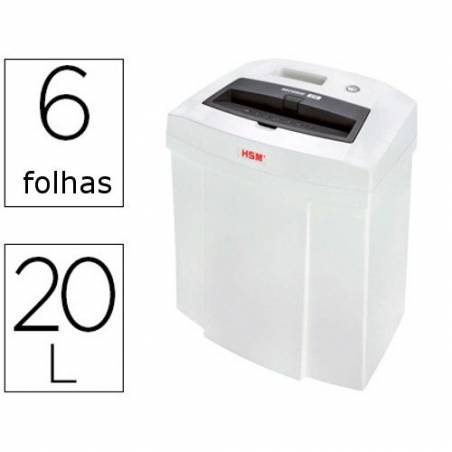 Destruidoras de Papel HSM Securio C14