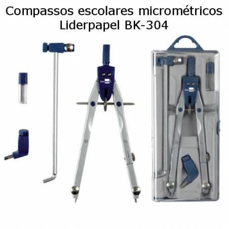 Compassos micrométricos Liderpapel BK-304