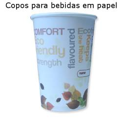 Copos Papel Take Away 278ml