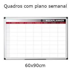 Quadro planning anual 60x90cm