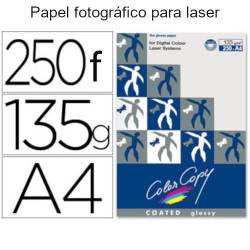 Papel color copy glossy A4 de 135gr