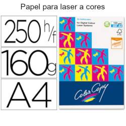 Papel Color Copy A4 brilhante de 160gr