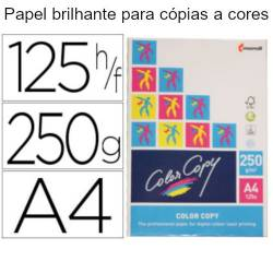 Papel Color Copy A4 brilhante de 250 gr