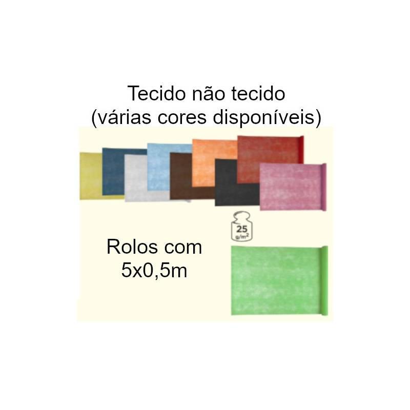 Tecido não tecido colorido (TNT)