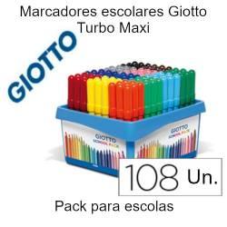 Marcadores Giotto Maxi...