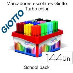 Marcadores escolares Giotto...