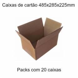 Caixas de cartão 485x285x225mm
