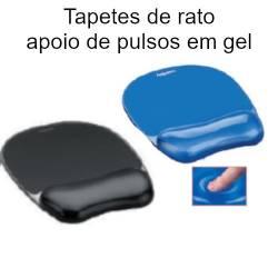 Tapetes de rato com apoio de pulso em gel