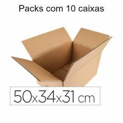 Caixas de cartão 50x34x31cm