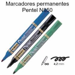 Marcadores permanentes Pentel N850
