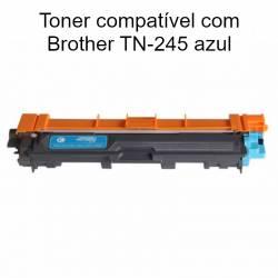 Tner compatível com Brother TN-245 azul
