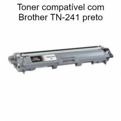 Toner preto compatível com Brother TN-241
