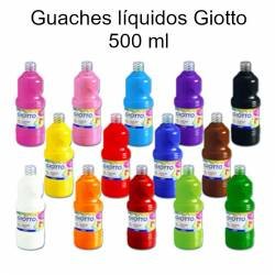 Guaches líquidos Giotto 500ml
