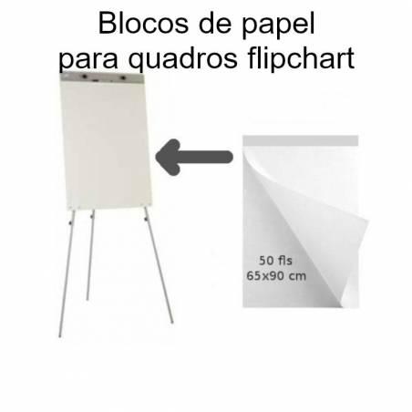 Blocos de papel para quadros flipchart