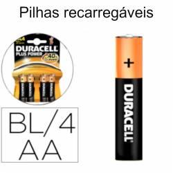 Pilhas recarregáveis AA