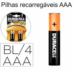 Pilhas AAA recarregáveis